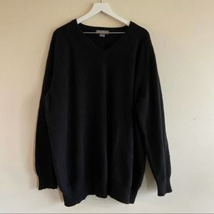 DANIEL CREMIEUX 100% Cashmere V-neck Sweater